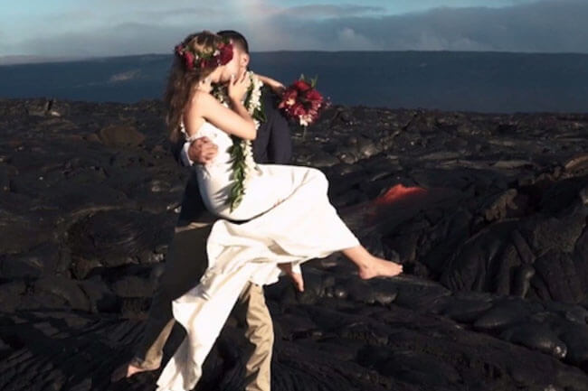 volcano-wedding